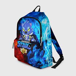 Городской рюкзак с принтом BRAWL STARS LEON, цвет: 3D, артикул: 10202229705601 — фото 1