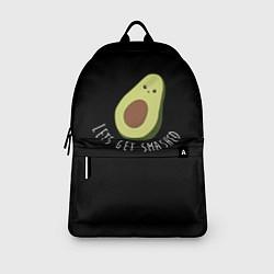 Рюкзак Авокадо цвета 3D-принт — фото 2