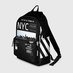 Рюкзак Off-White: NYC цвета 3D-принт — фото 1