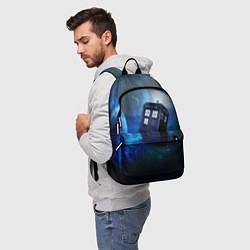 Рюкзак ТАРДИС цвета 3D — фото 2