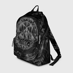 Рюкзак ПЕНТАГРАММА, цвета 3D-принт — фото 1