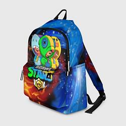 Рюкзак BRAWL STARS LEON SKINS цвета 3D — фото 1