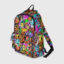 Городской рюкзак с принтом STANDOFF 2 STICKERS, цвет: 3D, артикул: 10275336305601 — фото 1