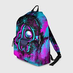 Рюкзак NEON AMONG US цвета 3D — фото 1