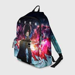 Городской рюкзак с принтом Тоука Киришима Токийский гуль, цвет: 3D, артикул: 10288035305601 — фото 1