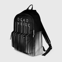 Рюкзак DEAD INSIDE DEATH STRANDING цвета 3D-принт — фото 1