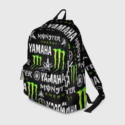 Рюкзак YAMAHA X MONSTER SPORT цвета 3D-принт — фото 1