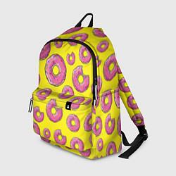 Рюкзак Пончики Гомера цвета 3D-принт — фото 1