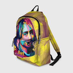 Рюкзак Kurt Cobain: Abstraction цвета 3D — фото 1