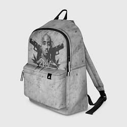 Рюкзак 2Pac Guns цвета 3D-принт — фото 1