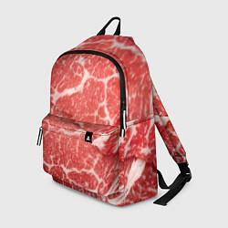 Рюкзак Кусок мяса цвета 3D — фото 1