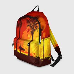 Рюкзак Summer Surf цвета 3D-принт — фото 1