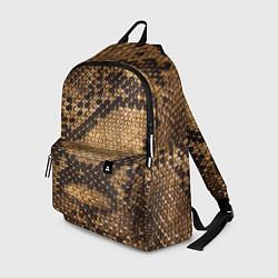 Рюкзак Змеиная кожа цвета 3D-принт — фото 1
