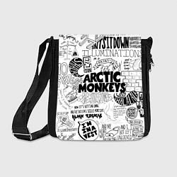 Сумка на плечо Arctic Monkeys цвета 3D-принт — фото 1