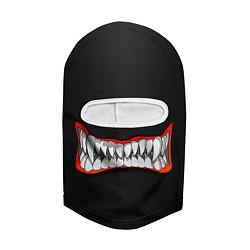Балаклава Зубы монстра цвета 3D-белый — фото 2