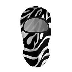 Балаклава Зебра цвета 3D-черный — фото 1