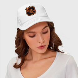 Бейсболка NHL цвета белый — фото 2