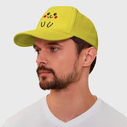 Бейсболка Bit Pikachu цвета желтый — фото 1