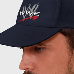Бейсболка WWE Fight цвета тёмно-синий — фото 2