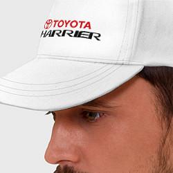 Бейсболка Toyota Harrier цвета белый — фото 2