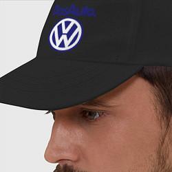 Бейсболка Volkswagen Das Auto цвета черный — фото 2