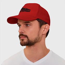 Бейсболка Back to the future цвета красный — фото 1