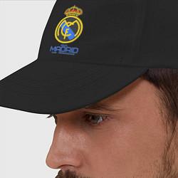 Бейсболка Real Madrid цвета черный — фото 2
