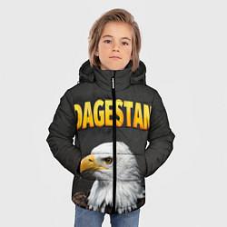Куртка зимняя для мальчика Dagestan Eagle цвета 3D-черный — фото 2
