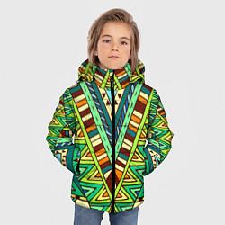 Куртка зимняя для мальчика Этно цвета 3D-черный — фото 2