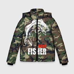 Куртка зимняя для мальчика Best fisher цвета 3D-черный — фото 1