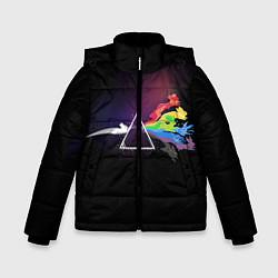Куртка зимняя для мальчика Покемоны цвета 3D-черный — фото 1