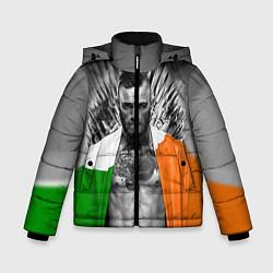 Детская зимняя куртка для мальчика с принтом McGregor: Boxing of Thrones, цвет: 3D-черный, артикул: 10102373906063 — фото 1