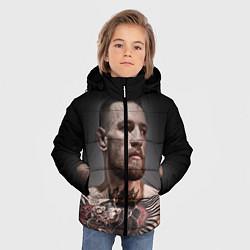 Куртка зимняя для мальчика Conor McGregor цвета 3D-черный — фото 2