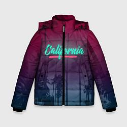 Куртка зимняя для мальчика California цвета 3D-черный — фото 1