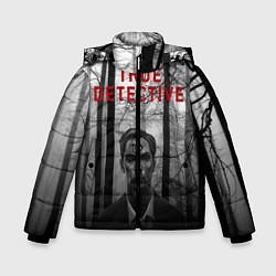 Куртка зимняя для мальчика True Detective: Blackwood цвета 3D-черный — фото 1