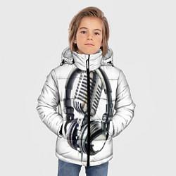 Куртка зимняя для мальчика Диджей цвета 3D-черный — фото 2