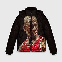 Куртка зимняя для мальчика Michael Jordan цвета 3D-черный — фото 1