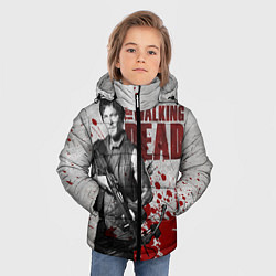 Куртка зимняя для мальчика Walking Dead: Deryl Dixon цвета 3D-черный — фото 2
