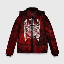 Куртка зимняя для мальчика Slayer: Blooded Eagle цвета 3D-черный — фото 1