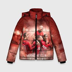 Куртка зимняя для мальчика Manchester United - фото 1