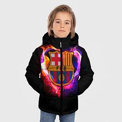 Куртка зимняя для мальчика Barcelona7 цвета 3D-черный — фото 2