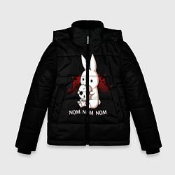 Куртка зимняя для мальчика Череп цвета 3D-черный — фото 1