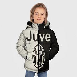 Куртка зимняя для мальчика Juventus6 цвета 3D-черный — фото 2