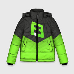 Куртка зимняя для мальчика FlipSid3 Uniform цвета 3D-черный — фото 1