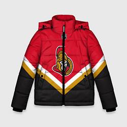Куртка зимняя для мальчика NHL: Ottawa Senators цвета 3D-черный — фото 1