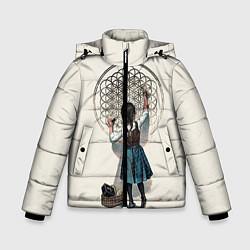 Куртка зимняя для мальчика Bring Me The Horizon цвета 3D-черный — фото 1