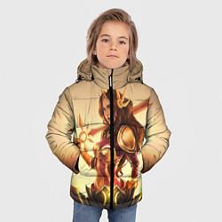 Куртка зимняя для мальчика Ginger цвета 3D-черный — фото 2
