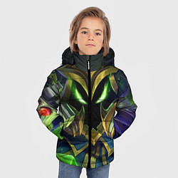 Куртка зимняя для мальчика Вейгар цвета 3D-черный — фото 2