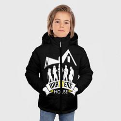 Детская зимняя куртка для мальчика с принтом Brazzers House, цвет: 3D-черный, артикул: 10117837706063 — фото 2