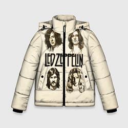Куртка зимняя для мальчика Led Zeppelin Guys цвета 3D-черный — фото 1